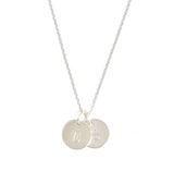 Initial Charm(s) Necklace - Silver