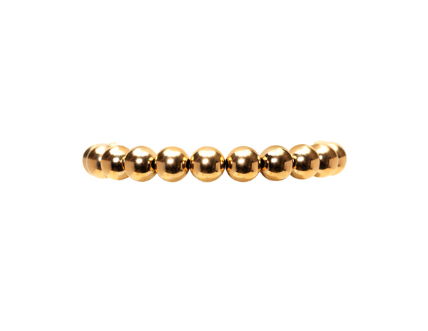 10MM Yellow Gold Filled Bracelet
