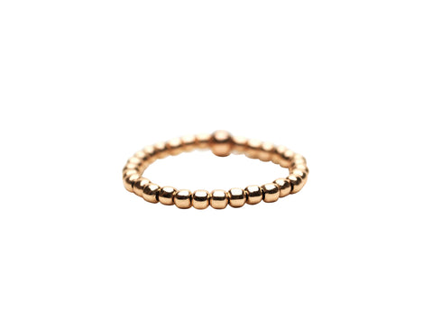 2MM Rose Gold Filled Signature Ring