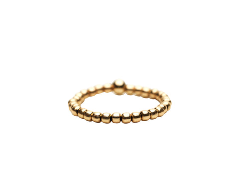 2MM Yellow Gold Filled Signature Ring