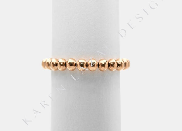 3MM Rose Gold Filled Signature Ring