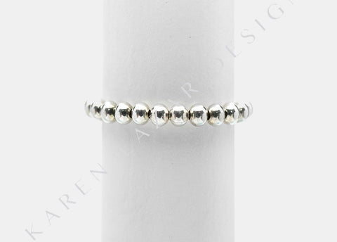 3MM Sterling Silver Signature Ring