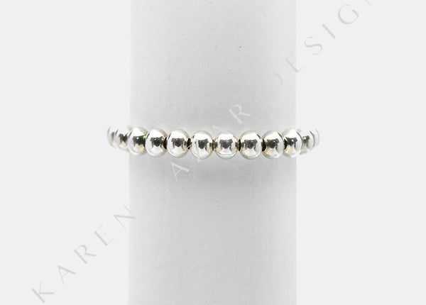 3MM Sterling Silver Filled Signature Ring