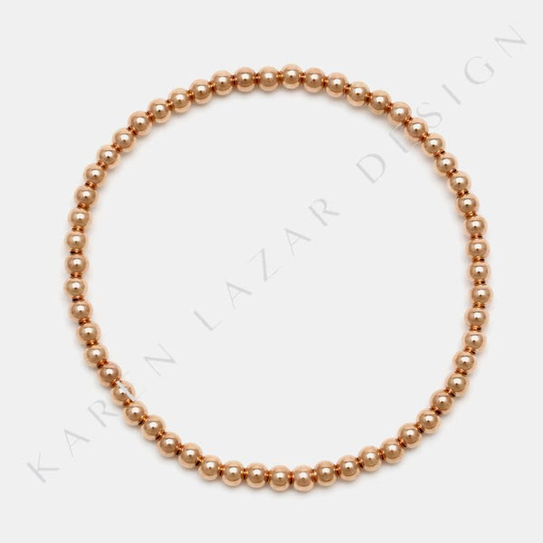 3MM Rose Gold Filled Bracelet