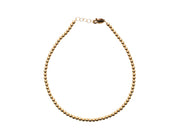 3MM Yellow Gold Filled Anklet