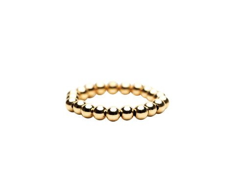 3MM Yellow Gold Filled Signature Ring