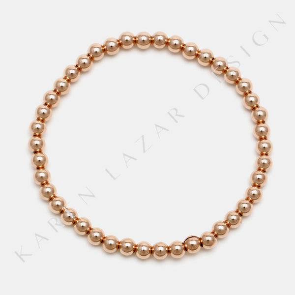 4MM Rose Gold Filled Bracelet