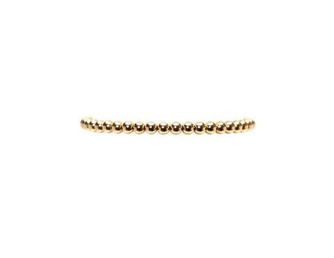 4MM Yellow Gold Filled Bracelet