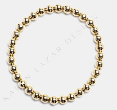 5MM Yellow Gold Filled Bracelet