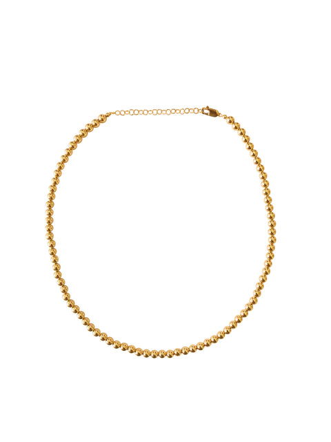 5MM Yellow Gold Filled Necklace