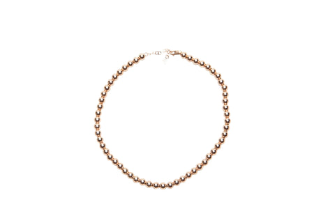 7mm Rose Gold Necklace