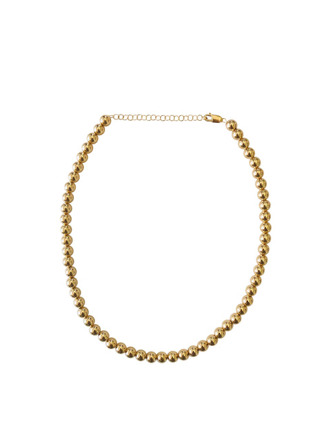 7mm Yellow Gold Necklace