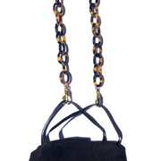 LA MASK : SMALL TORTOISE ACETATE CHAIN