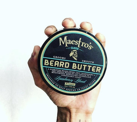 Maestros Beard Butter 8oz Speakeasy Blend