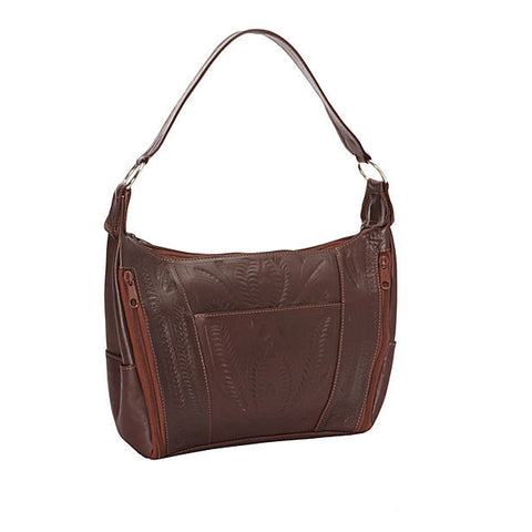 Concealed Carry Leather Satchel Purse by Ropin West