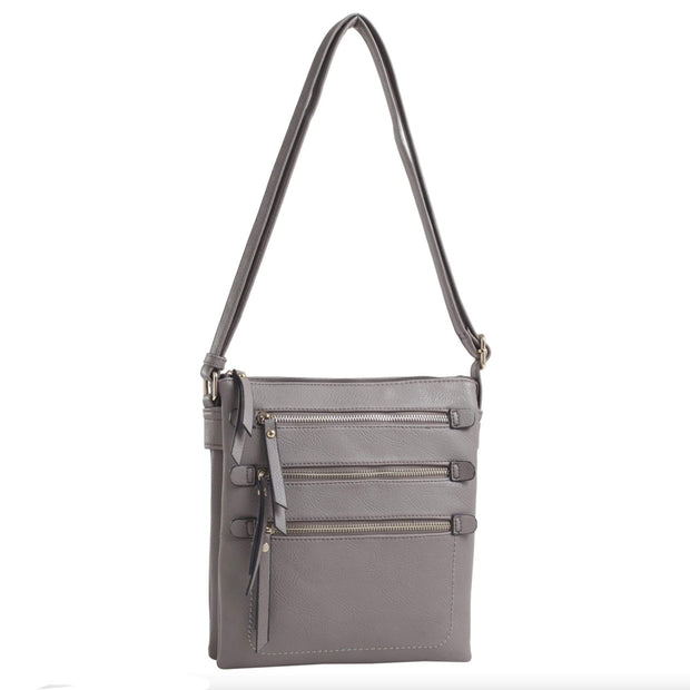 Emperia Outfitters Concealed Carry Purse Gray Concealed Carry Piper Crossbody by Emperia Outfitters