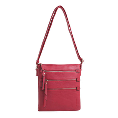Emperia Outfitters Concealed Carry Purse Red Concealed Carry Piper Crossbody by Emperia Outfitters