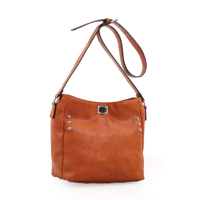 Emperia Outfitters Concealed Carry Purse Tan Concealed Carry Purse Crossbody - Ali by Emperia Outfitters