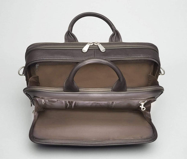Gun Tote'n Mamas Cases Concealed Carry Leather Briefcase by Gun Tote'n Mamas - GTM-155