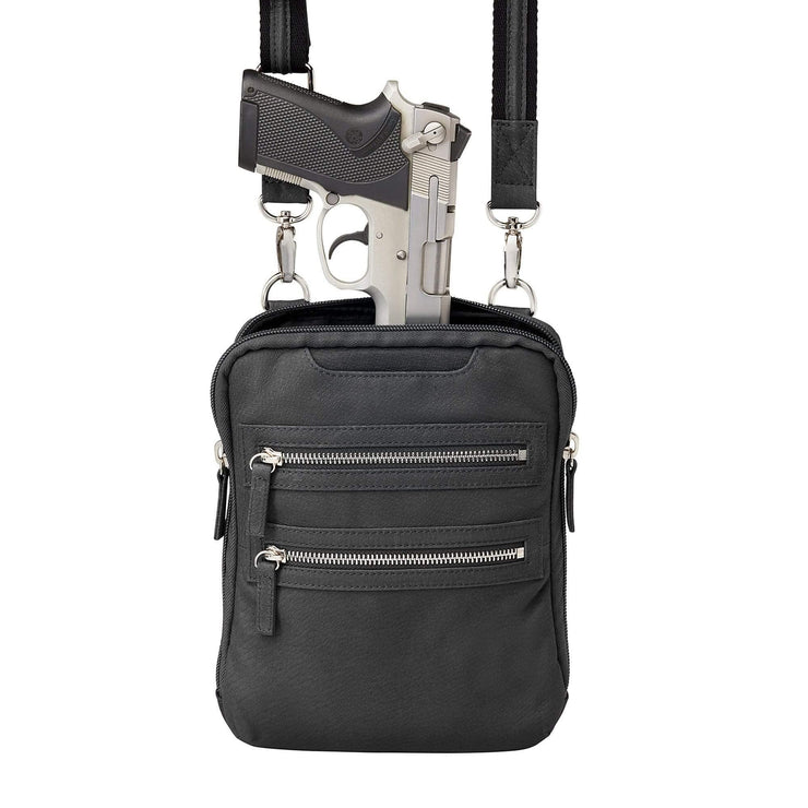 Gun Tote'n Mamas Concealed Carry Purse Concealed Carry Essential Crossbody Bag by Gun Tote'n Mamas - GTM-109