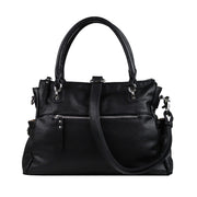 Lady Conceal Concealed Carry Purse Black Concealed Carry Jessica Satchel by Lady Conceal