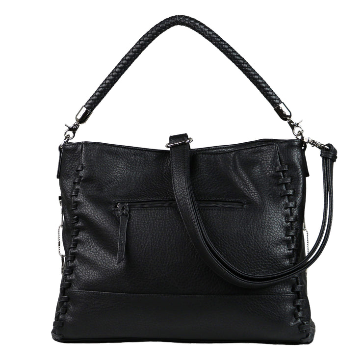 Lady Conceal Concealed Carry Purse Black Concealed Carry Lily Tote by Lady Conceal