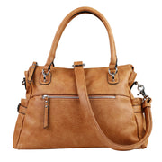 Lady Conceal Concealed Carry Purse Cinnamon Concealed Carry Jessica Satchel by Lady Conceal