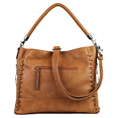 Lady Conceal Concealed Carry Purse Cinnamon Concealed Carry Lily Tote by Lady Conceal