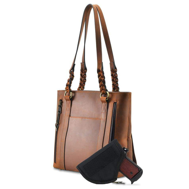 Lady Conceal Concealed Carry Purse Concealed Carry Bella Leather Tote by Lady Conceal