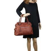 Lady Conceal Concealed Carry Purse Concealed Carry Jessica Satchel by Lady Conceal