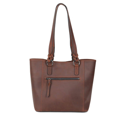 Lady Conceal Concealed Carry Purse Concealed Carry Maddie Leather Tote by Lady Conceal