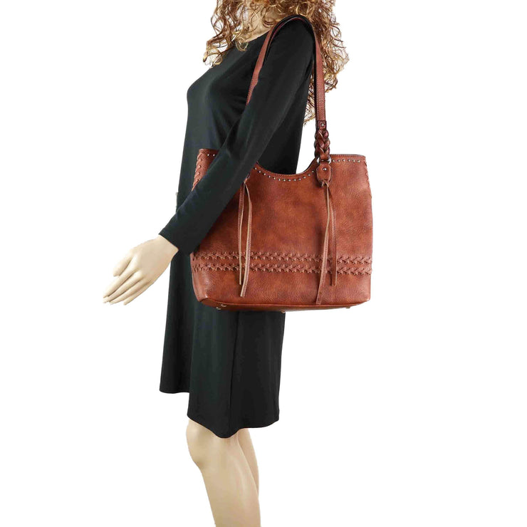 Lady Conceal Concealed Carry Purse Concealed Carry Riley Scoop-Top Tote by Lady Conceal