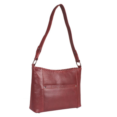 Lady Conceal Concealed Carry Purse Mahogany Concealed Carry Juliana Leather Hobo by Lady Conceal