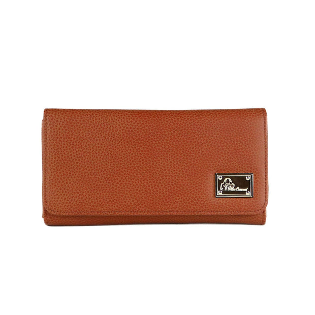 Miss Conceal Wallets Mahogany Genuine Leather Wallet