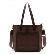 Montana West Concealed Carry Purse Coffee Concealed Carry Leather Tote/Crossbody by Montana West