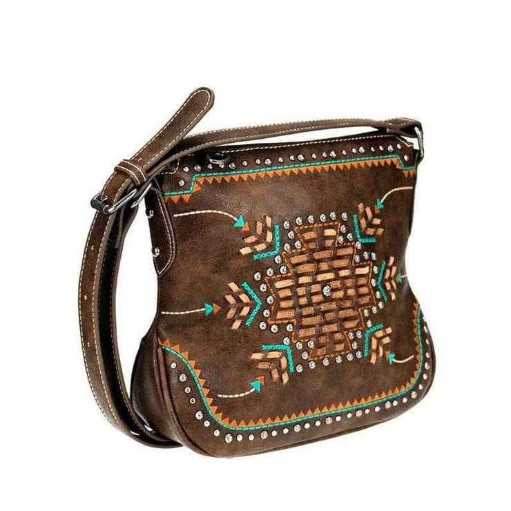 Montana West Concealed Carry Purse Concealed Carry Aztec Crossbody Purse by Montana West
