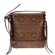 Montana West Concealed Carry Purse Concealed Carry Aztec Embossed Crossbody by Trinity Ranch