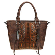 Montana West Concealed Carry Purse Concealed Carry Aztec Embossed Tote by Trinity Ranch