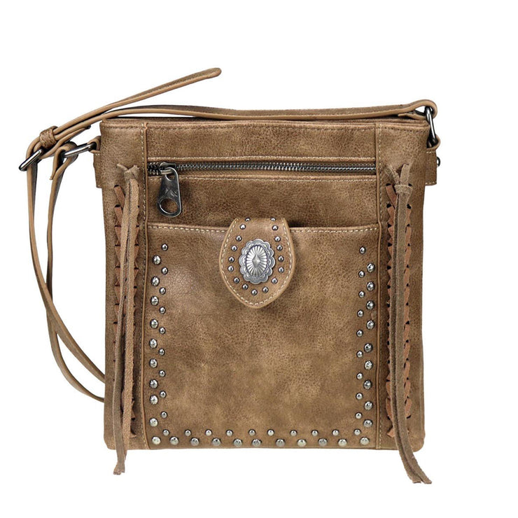 Montana West Concealed Carry Purse Concealed Carry Concho Crossbody by Montana West
