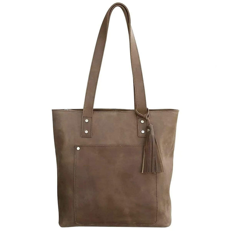 Roma Leathers Concealed Carry Purse Concealed Carry Distressed Leather Tote by Roma Leathers