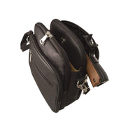 Roma Leathers Concealed Carry Purse Concealed Carry Leather Crossbody Organizer by Roma Leathers