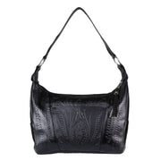 Ropin West Concealed Carry Purse Black Concealed Carry Leather Satchel Purse by Ropin West