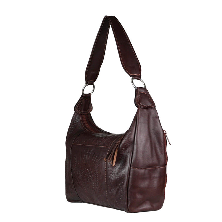 Ropin West Concealed Carry Purse Concealed Carry Leather Satchel Purse by Ropin West