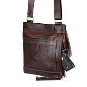 Ropin West Concealed Carry Purse Concealed Carry Organizer Crossbody by Ropin West