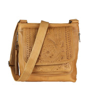 Ropin West Concealed Carry Purse Natural Concealed Carry Organizer Crossbody by Ropin West