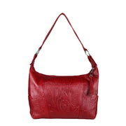 Ropin West Concealed Carry Purse Red Concealed Carry Leather Satchel Purse by Ropin West