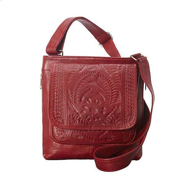 Ropin West Concealed Carry Purse Red Concealed Carry Organizer Crossbody by Ropin West