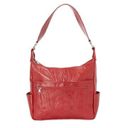 Ropin West Concealed Carry Purse Red Concealed Carry Pocket Shoulder Purse by Ropin West