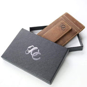 Urban Cowboy Wallets Men's Leather Front Pocket Wallet with Money Clip by Urban Cowboy