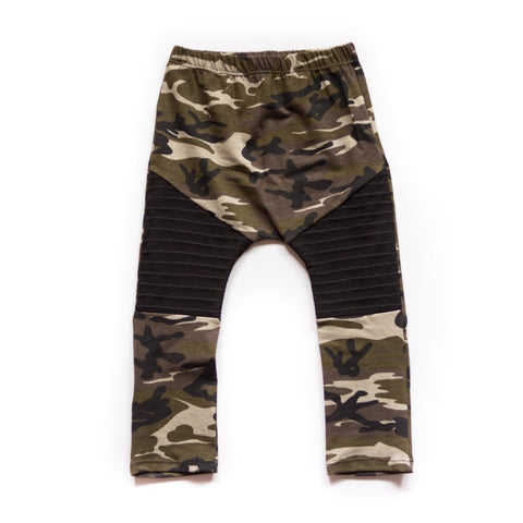 Camo Moto Leggings or Harems